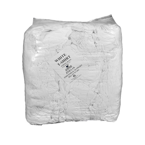 White Cotton Rags 10 LB Pack