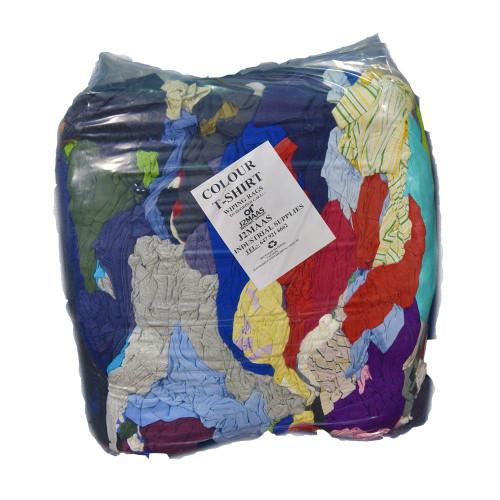 Coloured Cotton Rags 25 LB Pack