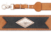 Western Leather Suspenders