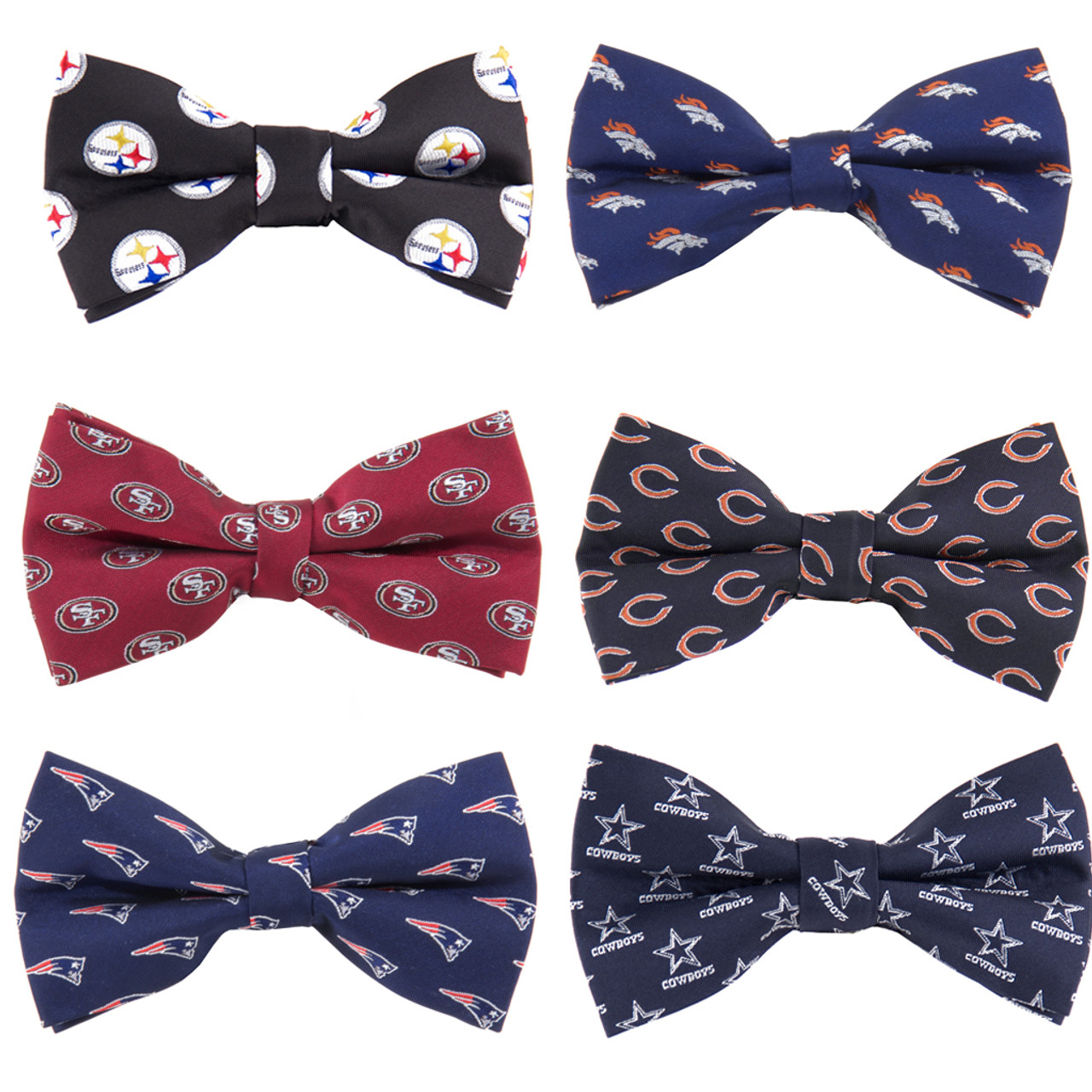 2df2dffb0 NFL Football Team Bow Ties