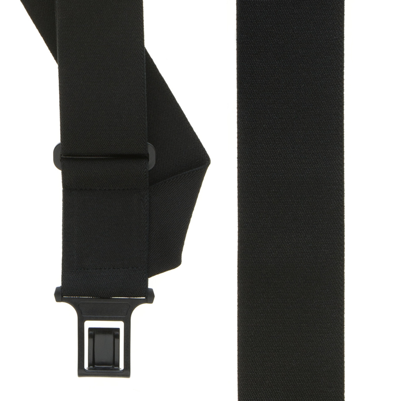 1bdb6b982 Perry Suspenders - Front View - Black Side Clip Elastic