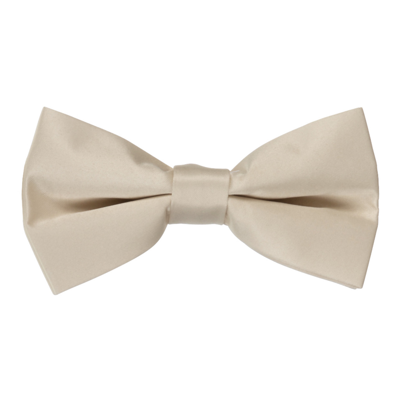 Dark Brown Canvas Bow Tie Adjustable Pre-tied Clip-on  Bow Tie Necktie Ties