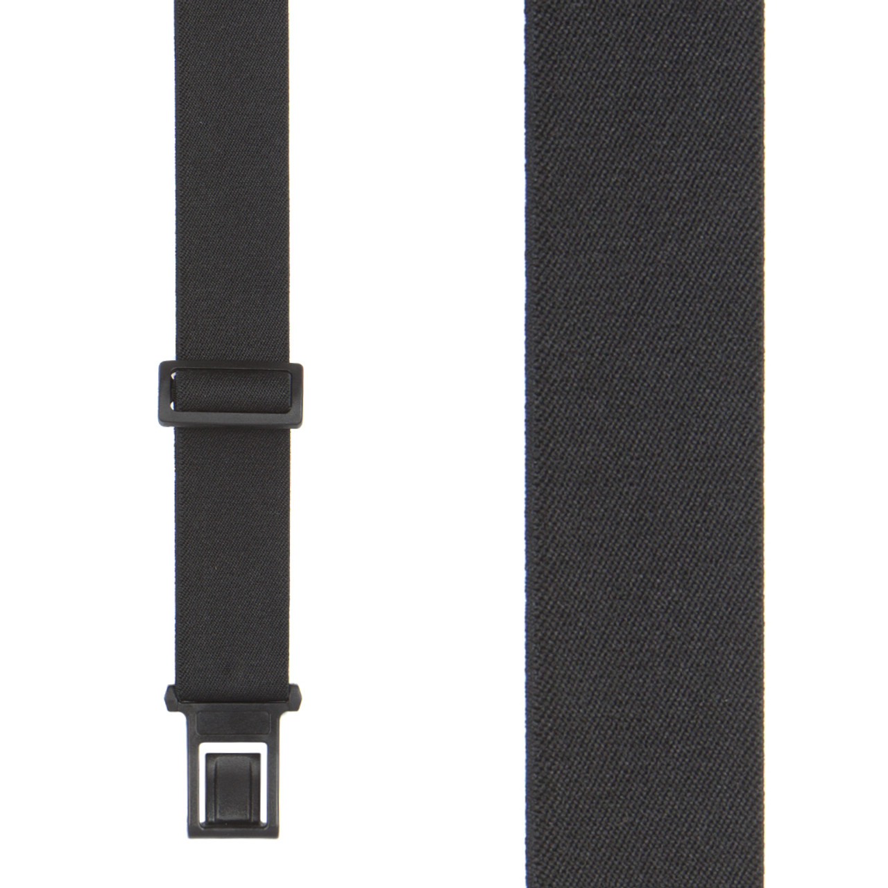 e6785bdb6 Perry Suspenders - Front View - Black 1.5-Inch Elastic
