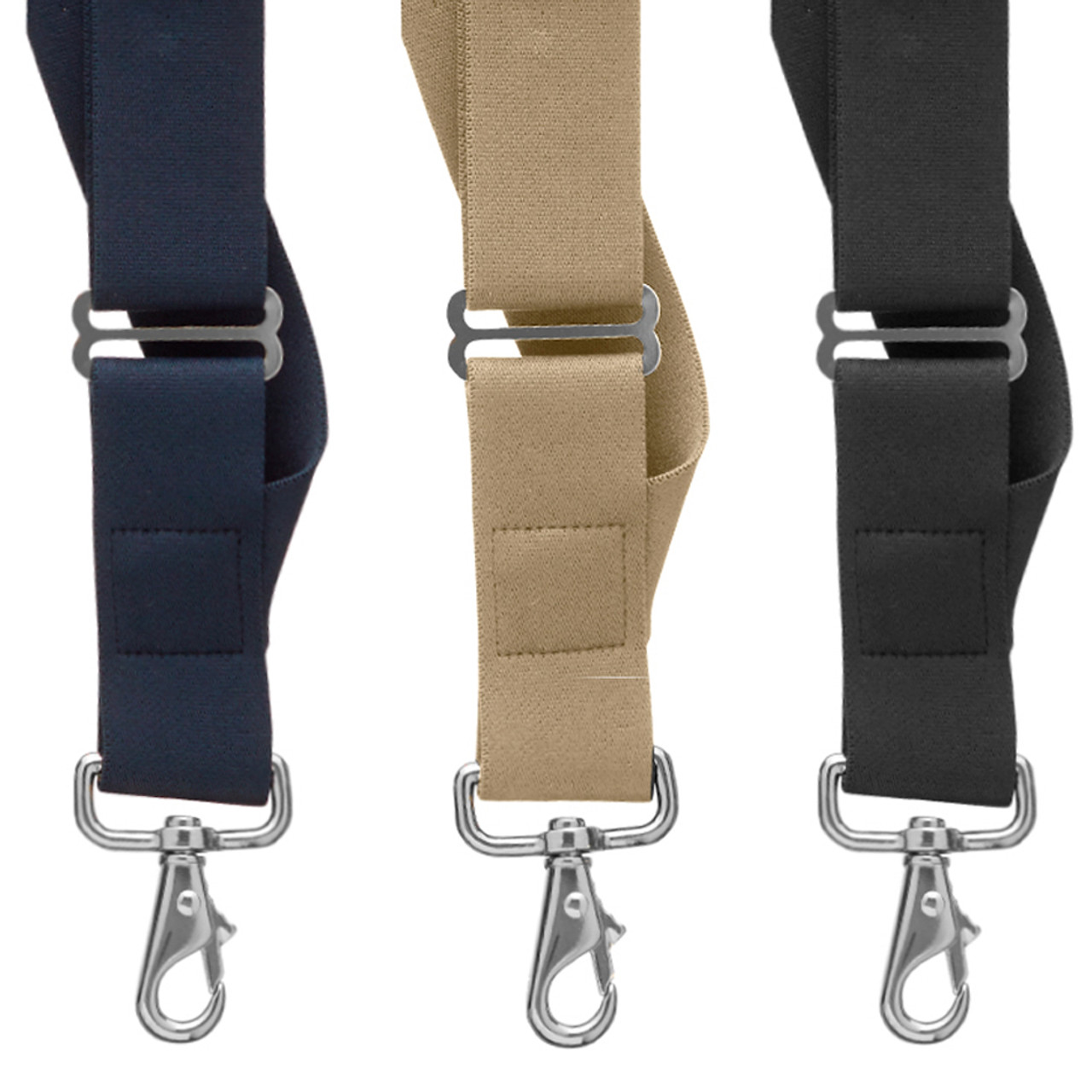 a297bb3ad42 Side Trigger Snap Suspenders - 1.5 Inch Wide