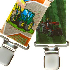 Tractors Suspenders - Front View