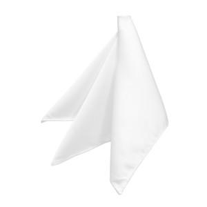 Pocket Square in White
