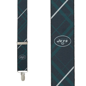 NFL New York Jets Suspenders - Front View