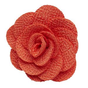 Lapel Flower Orange