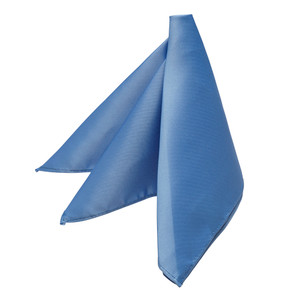 Pocket Square - PERIWINKLE - Front View