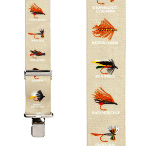 Fly Fishing Suspenders - Front View