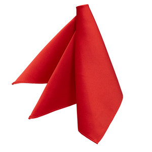 Pocket Square - RED - Front View