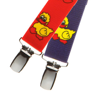 Duckies Suspenders for Kids - Both Colors