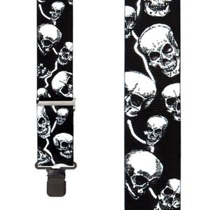 Skull Suspenders - Front View
