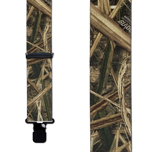 Shadow Grass Blades Suspenders - Front View