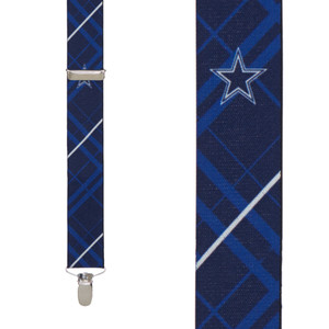 Dallas Cowboys Suspenders - Front View