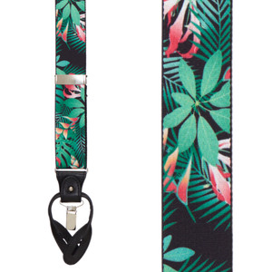 Margarita Tropical Suspenders - Convertible End - Front View