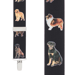 Big Dog Suspenders - Front View