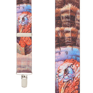 Turkey Suspenders - Front View