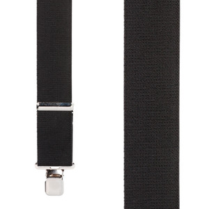 Classic Suspenders - Front View - Black