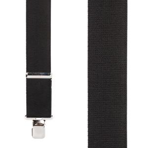Classic Suspenders - Front View - Black