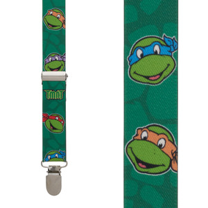 Ninja Turtle Suspenders - Front View