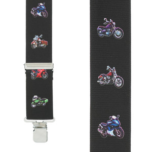 Motorcycles Suspenders - Front View