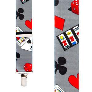 Casino Suspenders - Front View