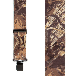 Max 4 Camo Suspenders - Front View