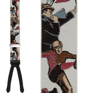 Leatherheads Limited Edition Braces - Full View