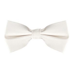Bow Tie in Ivory