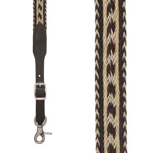 SIERRAWEAVE Horsehair Suspenders - Front View