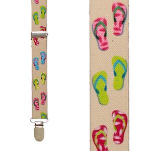 Flip Flop Suspenders - Front View