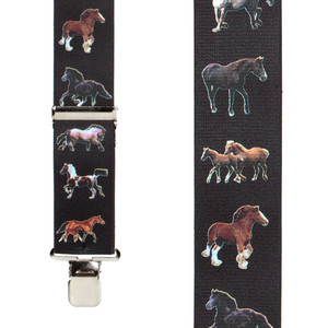 Horse Suspenders - Front View
