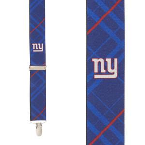 New York Giants Suspenders - Front View