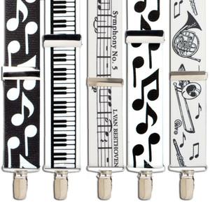 Music Suspenders - All Designs