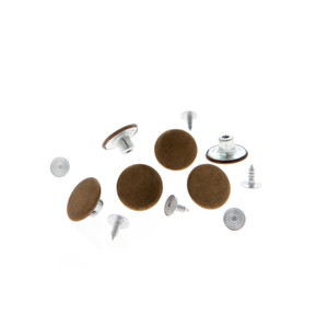 No-Sew Permanent Buttons - Set of 6