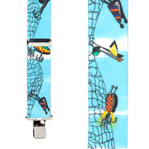 Fishing Lures Suspenders - Front View