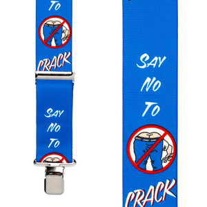 Say No To Crack Suspenders - Front View