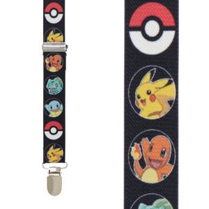 Pokemon Suspenders - Front View
