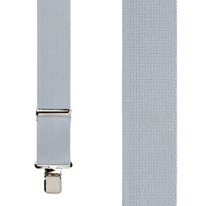 Classic Suspenders - Front View - Grey