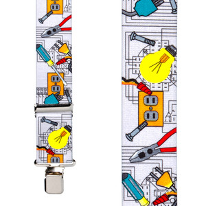 Electrician Suspenders - Front View