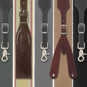 Rugged Comfort Suspenders - All Attachments