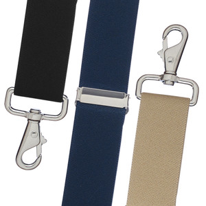 Big & Tall 1.5-Inch Trigger Snap Suspenders - All Colors