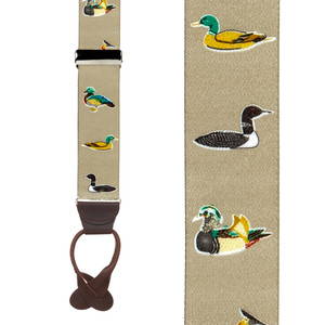 Duck Suspenders - Front View