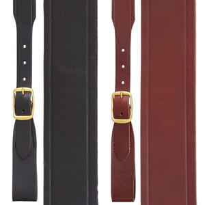 Handcrafted Western Leather Suspenders Belt Loop - All Colors