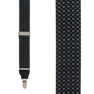 Fairfield Grosgrain CLIP Suspenders - Front View