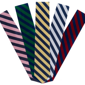 Striped Neckties by Oxford Kent - All Colors
