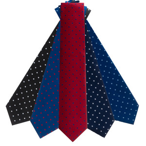 Polka Dot Neckties by Oxford Kent - All Colors