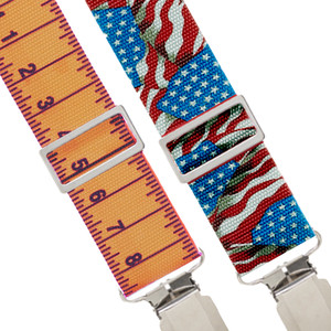 Non-Stretch Work Suspenders - All Designs