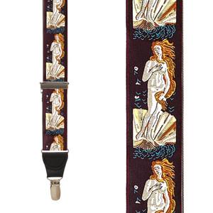 Vintage Ribbon Venus Suspenders - Front View